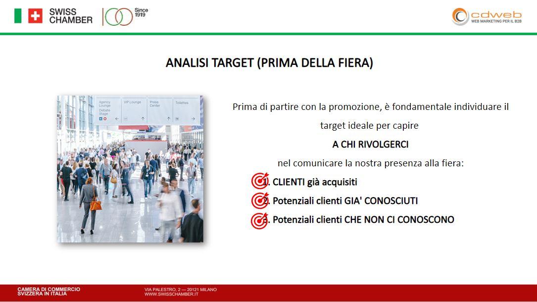 Aumentare i visitatori allo stand grazie all'analisi del target nel B2B