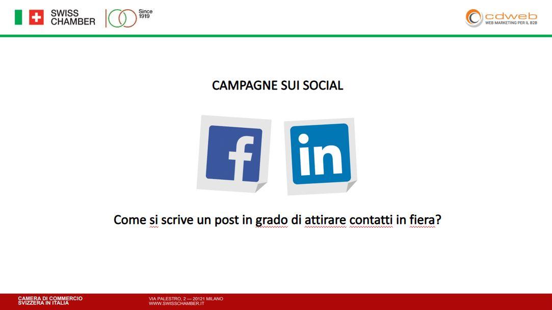 Social media marketing e fiere B2B per aumentare le vendite